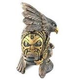 Exoterra Cachette Aztèque en forme de guerrier aigle