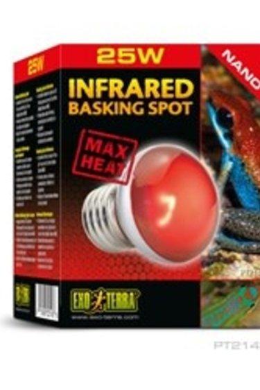 Exoterra Ampoule Nano à infrarouge pour lézarder 25w Infrared Basking Spot NANO 25W