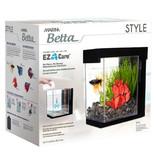 Marina Aquarium Style Marina pour betta, noir, 3,7 L (1 gal US)