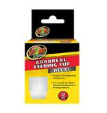Zoomed Gobelet d'alimentation arboricole pq de 12 - Arboreal Feeding Cup Refill