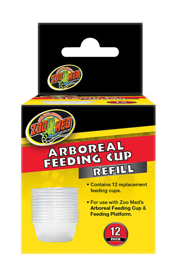 Zoomed Gobelet d'alimentation arboricole pq de 12 - Arboreal Feeding Cup Refill
