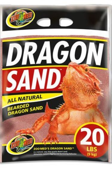 "Zoomed Sable ""Dragon Sand"" rouge 20 lbs."