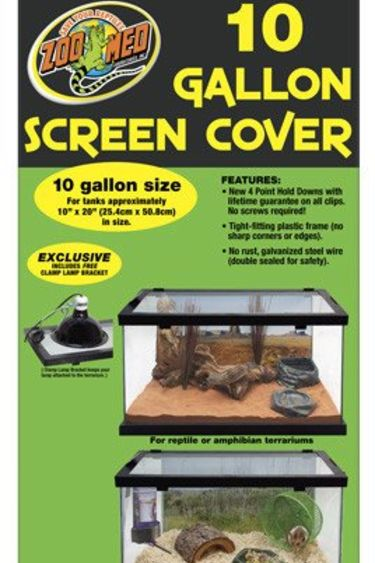 "Zoomed Couvercle grillagé 10 gal. 10""x20"" - Screen Cover"