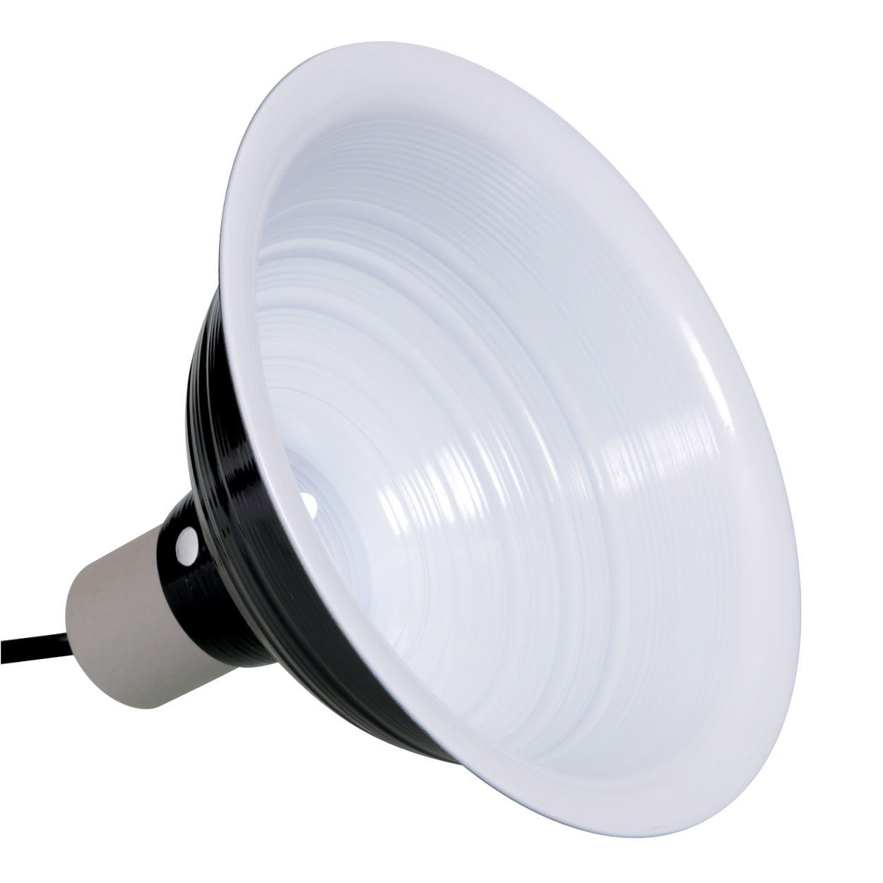 """Zilla Dôme réflecteur noir 8.5 po - Reflector Dome - Black - 8.5"""""""