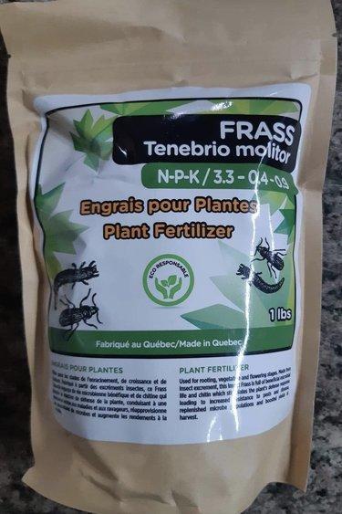 Magazoo Engrais pour plantes  Frass tenebrio molitor 1lbs