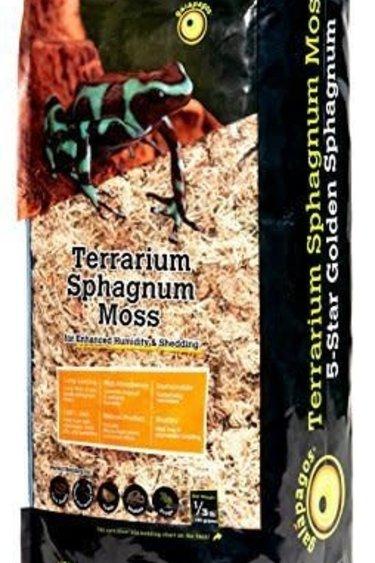 Galapagos Mousse de Sphaigne - 5-Star Golden Sphagnum Moss (1/3 lb.)