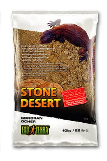 Exoterra Désert de pierres sable- désert de Sonora ocre
