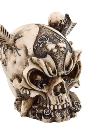 Treasures underwater Crâne de guerrier - Warrior skull