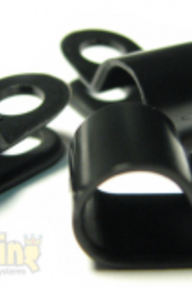 "MistKing Clips de tube (pq de 10) pour tube 1/4'' - Tubing Clips (10-Pak) for 1/4"" tubing"