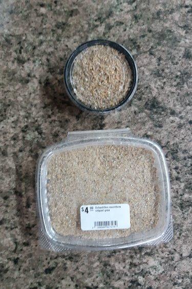 Magazoo Échantillon nourriture pour grillons