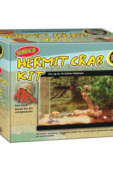 Zoomed Ensemble de départ Bernard l'hermite - Starter Hermit Crab Kit