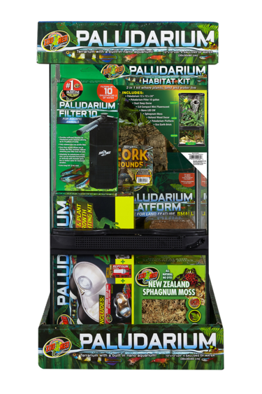 "Zoomed Paludarium Habitat Kit - 12"" x 12"" x 24"""