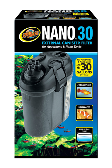 Zoomed Filtre à cartouche externe Nano - Nano External Canister Filter - 30 gal