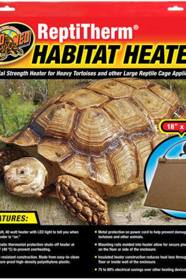 """Zoomed Chauffe habitat : 18""""x18"""" - Habitat Heater"""