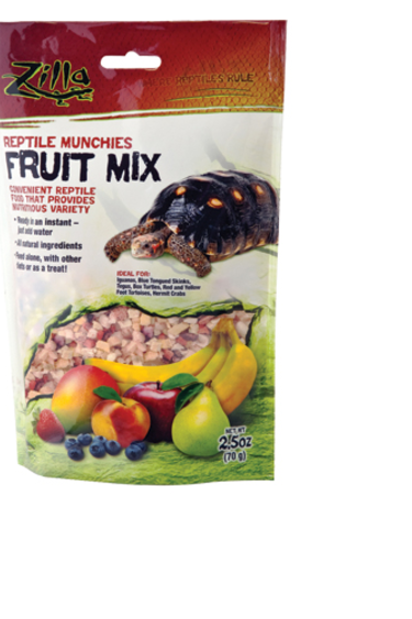 Zilla Reptile Munchies - Fruit Mix - 2.5 oz