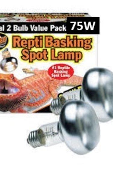 Zoomed Ampoule chauffante de jour pt de 2 – Basking Spot Lamp