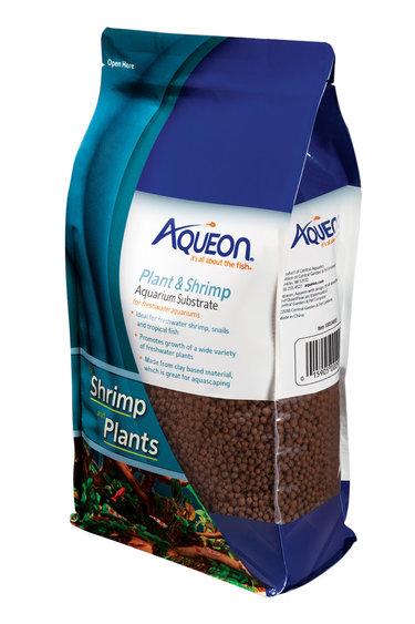 Aqueon Substrat d'aquarium pour plante et crevettes - Plant & Shrimp Aquarium Substrate - 5 lb