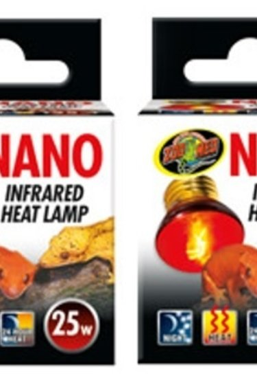 Zoomed Ampoule Nano infrarouge - Nano Infrared Heat Lamp