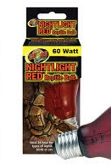 Zoomed Ampoule rouge de nuit – Nighlight Red Bulb