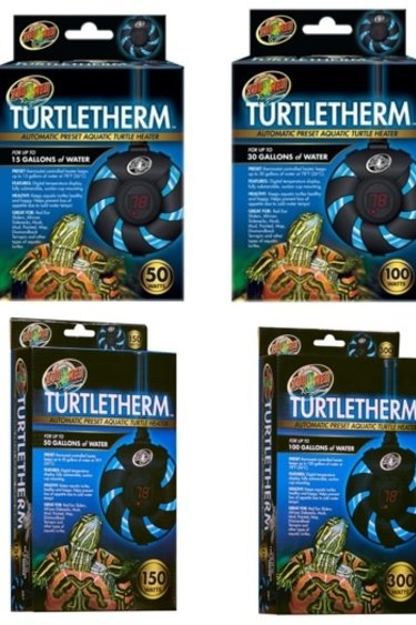 Zoomed Chauffe eau aquatique submersible turtletherm
