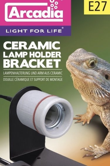 Arcadia Support de porte-lampe en céramique - Ceramic lamp holder bracket