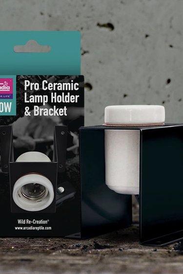 Arcadia Ensemble de support de lampe D3 Ceramic Pro avec interrupteur - D3 Ceramic Pro Lamp Bracket Set with Switch