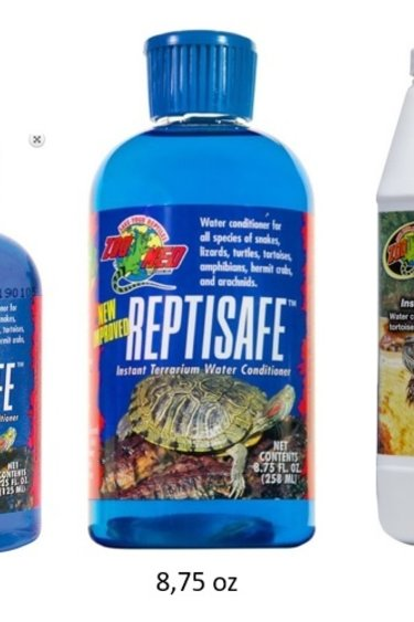 Zoomed Conditionneur d'eau pour reptile