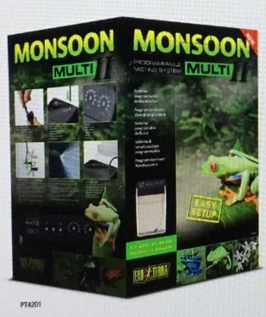 Exoterra Système de brumisation Monsoon Multi II