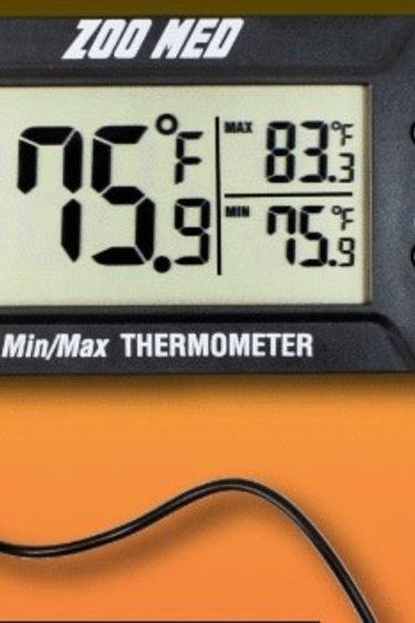 Zoomed Thermomètre Min/Max - Digital MIN-MAX Precision Thermometer
