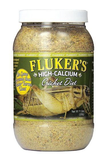 Fluker's Nourriture pour grillon riche en calcium - High-Calcium Cricket Diet - 11.5 oz