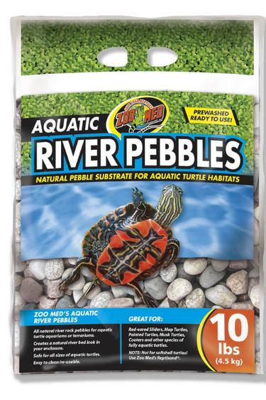 Zoomed Galets de rivière - Aquatic River Pebbles
