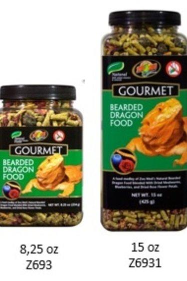 """Zoomed Nourr. """"Gourmet"""" pour dragon barbu"""