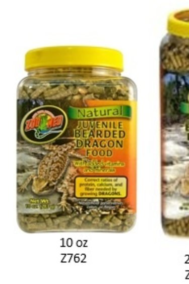 Zoomed Nourr. naturelle pour dragon ba rbu juvénile/Natural Bearded Dragon Food – Juvenile Formula