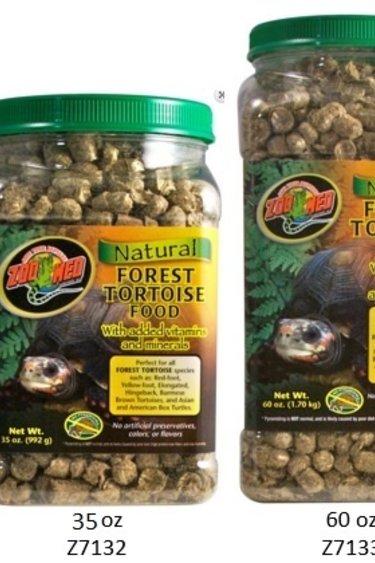 Zoomed Nourr. naturelle pour tortue terrestre de forêt