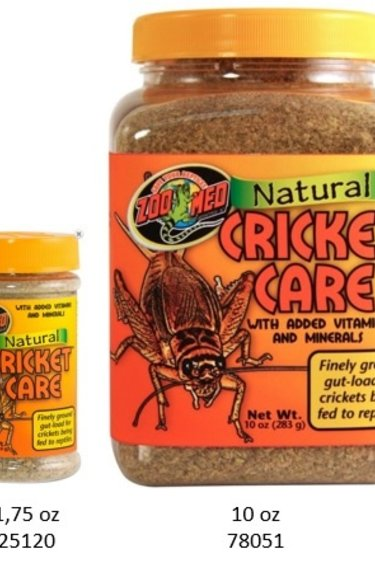 Zoomed Nourriture pour grillon/Natural Cricket Care™