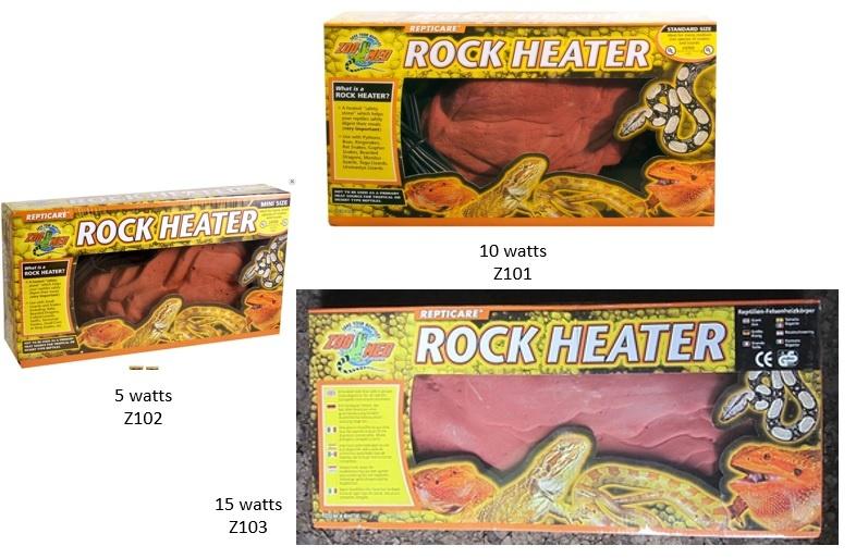 Zoomed Pierre chauffante / Repticare Rock Heater