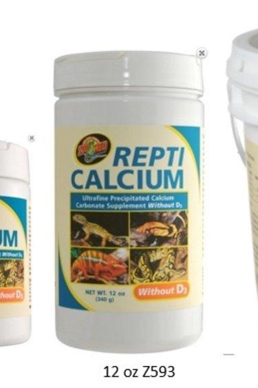 Zoomed Repti calcium sans D3