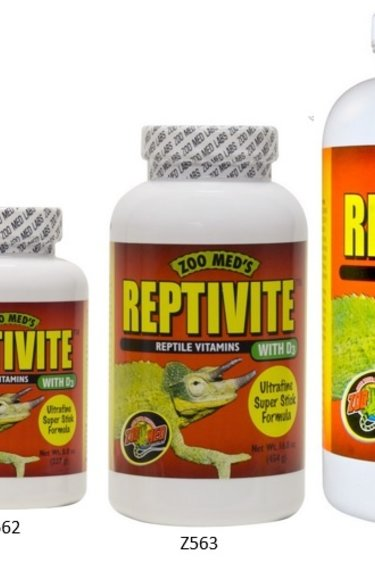 Zoomed ReptiVite avec D3 - ReptiVite™ with D3