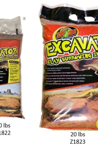 """Zoomed Substrat à modeler """"Excavator"""" - Excavator® Clay Burrowing Substrate"""