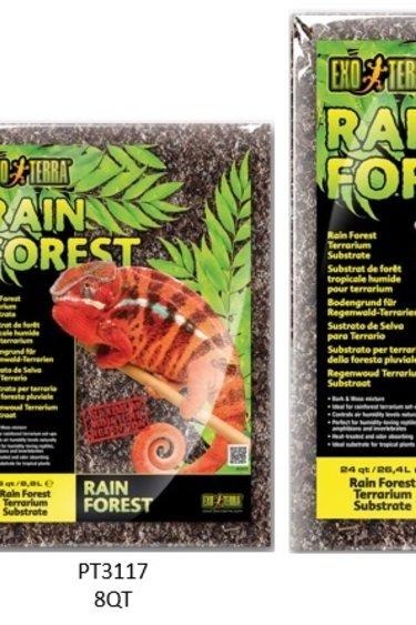 Exoterra Substrat de forêt tropicale humide Exo Terra pour terrarium