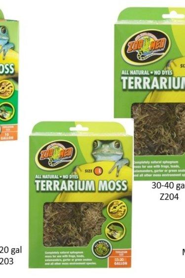 Zoomed Substrat de mousse naturelle pour terrarium
