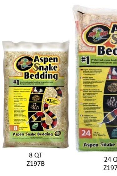 """Zoomed Substrat de tremble """"Aspen snake Bending"""""""