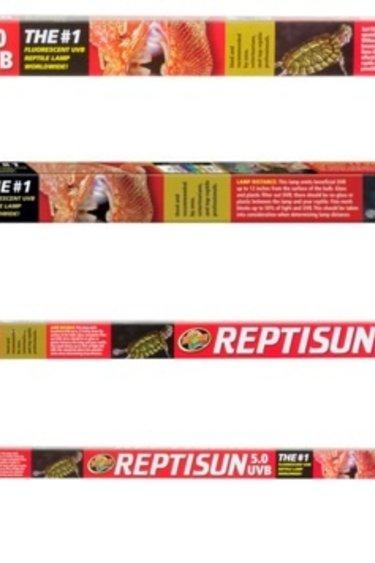 Zoomed Tube Reptisun T8 - 5.0 UVB - T8 ReptiSun® 5.0 UVB Fluorescent Bulb