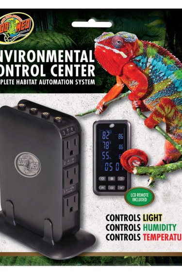 Zoomed Centre de contrôle environnemental - Environmental Control Center