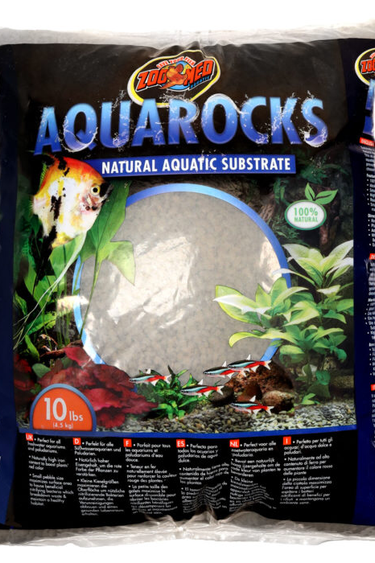 Zoomed AquaRocks – Substrat Aquatique Naturel 10lbs - Natural Aquatic Substrate 10lbs