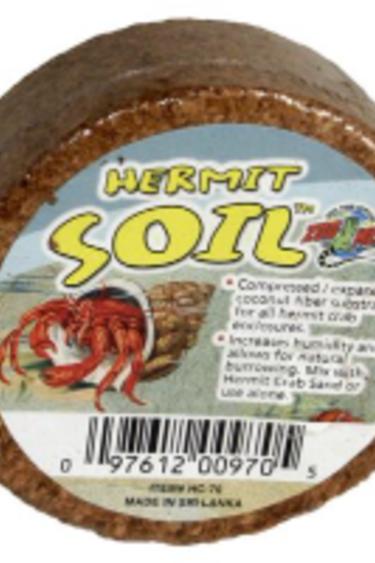 Zoomed Zoomed Substrat de noix de coco pour bernard  l'hermite / Hermit Soil™