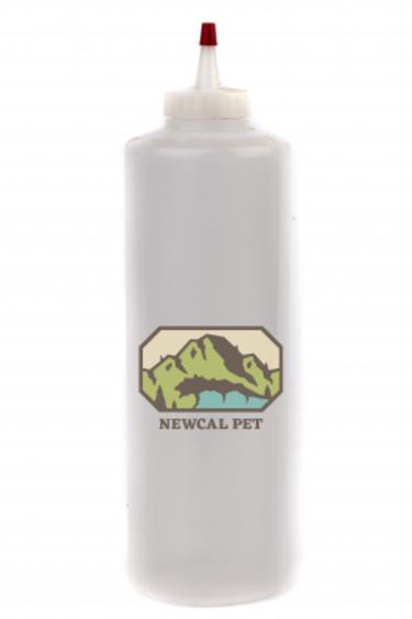 NewCal Pets Bouteille de mesure 16 oz pour gecko - Gecko Diet Bottle, 16oz