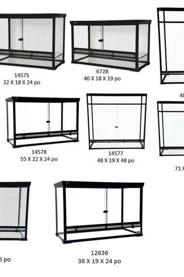 Atasuki Terrarium en vitre à assembler