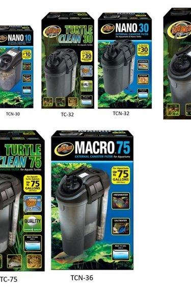 Zoomed Filtreur externe Turtle Clean – External Canister Filter