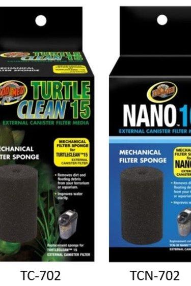 Zoomed Éponge filtreur / Turtle Clean™ 15 Mechanical Filter Sponge